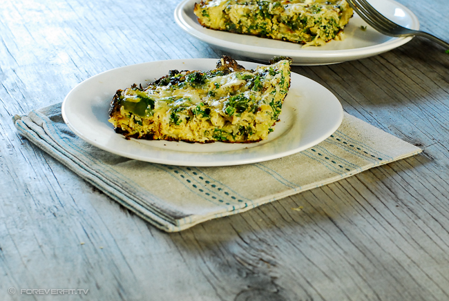 Foreverfit.tv - Brussel Sprouts and Kale Frittata-3